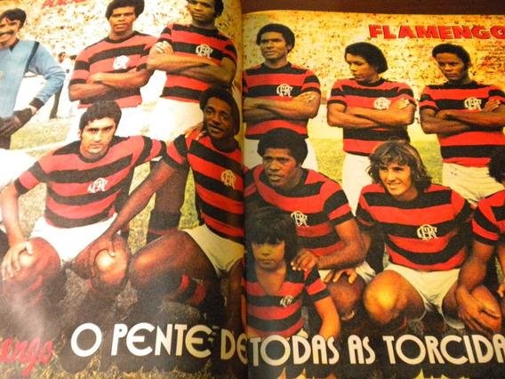 Placar 153 Poster Flamengo E Figurinhas Morte Almir Pernambu