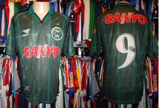 Coritiba - Camisa 1999 Reserva # 9