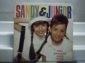 Sandy & Junior Pra Dançar Com Voce + Encarte Lp 1994