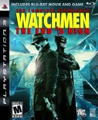 Jogo Watchmen The End Is Nigh Completo Ps3 + Filme Blu Ray