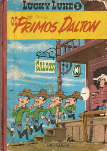 Lucke Luky Nº 1 - Os Primos Dalton - 1966 - Bruguera