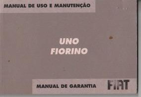 Manual Proprietário Fiat Uno Ou Fiorino 2007 C/sulpl. E Bols