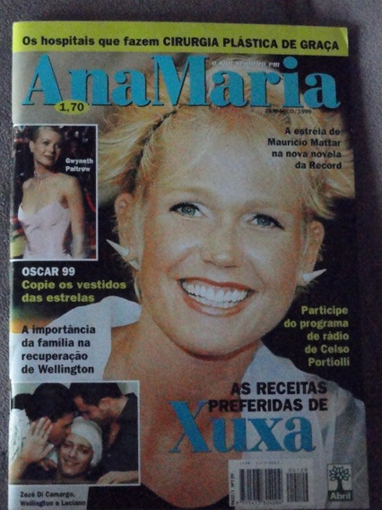 # Revista Ana Maria Xuxa Capa - Março 99 No. 129