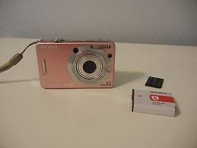 Câmera Digital Sony Dsc-w55 7,2 Mp