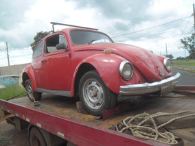 Fusca Chassis 1967 Com Documento 2017 Pago / Motor Travado