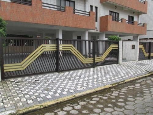 1592 Apartamento 2 Dormitórios Lado Praia Mongaguá