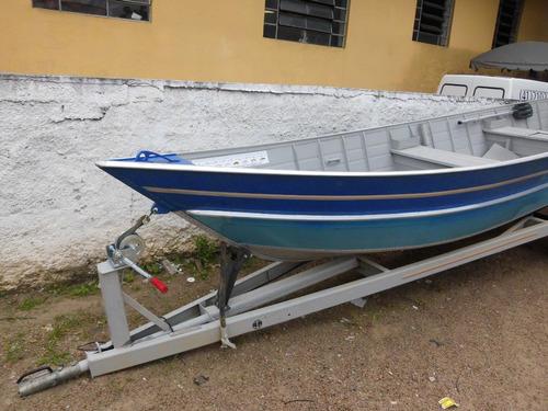 Barco Tibagi (aluminio) 6m Novo So Casco 12x  Cartao De 670