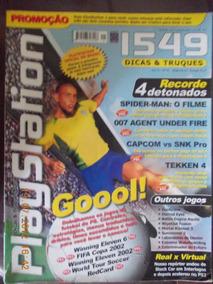 Playstation - Dicas E Truques. Goool!/ Spider-man/ Capcom Vs