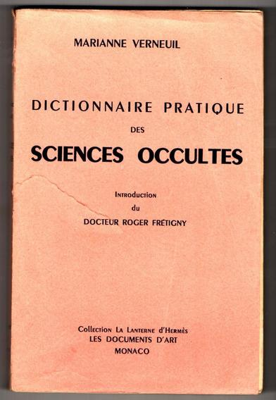 Dicionário Prático Das Ciências Ocultas - Em Francês - Magia