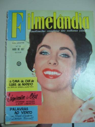 Filmelandia 1957 Debbie Brando Hepburn Malone Rock Hudson