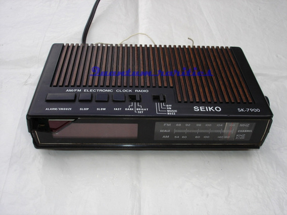 Antigo Radio Relogio Seiko Sk-7900 P/ Restauro Ou Ret Peças