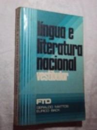 Língua E Literatura Nacional - Vestibular (sebo Amigo)