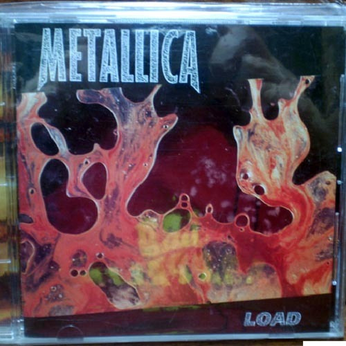 Metallica Load Cd Box Grosso Letras E Livreto Import. Japão