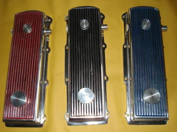 Tampa De Valvula Em Aluminio Polido Motor Ap 8v - Vw / Ford