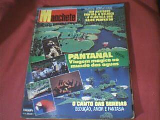 Manchete 1.997- Pantanal Mato Grosso - Copa 90- Novela Pant