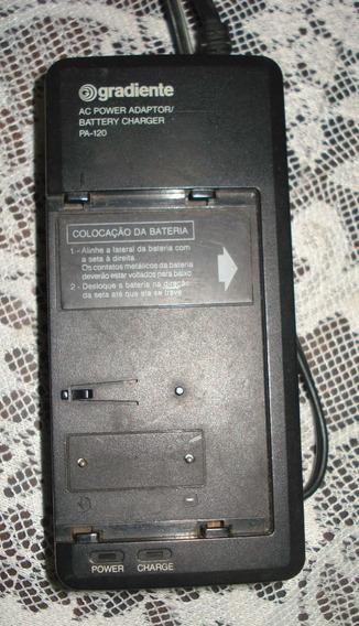 Carregador Bateria Filmadora Gradiente Pa 120