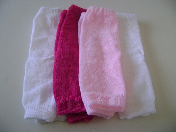 Calças Para Bebês Em Lã E Linha Tam. Rn