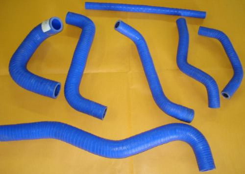Mangueira Radiador Silicone P/ Água Gol Quadrado Ap Azul
