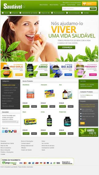 Site Para Loja De Produtos Naturais - Loja38150
