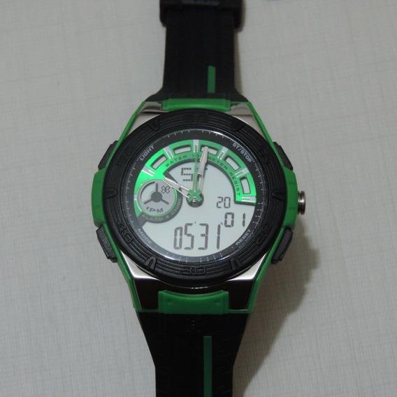 Relógio Anadigi Orient Xgames Xmppa063 Masculino Visor Prata