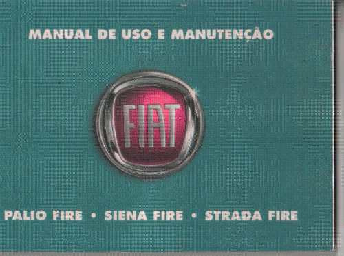 Manual Proprietário Palio Siena Strada Fire 2008 2009 C/supl