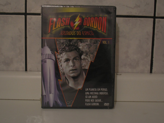 Dvd Flash Gordon Soldados Do Espaço Volume 1 (lacrado)