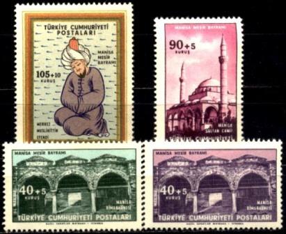 Turquia - 15524/7 - Manisa Mesir Bayrami - Serie