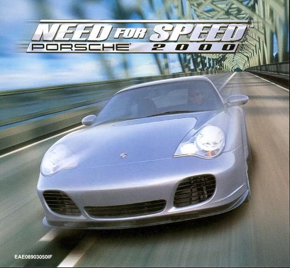 Game Pc Importado Need For Speed Porsche 2000 Lacrado