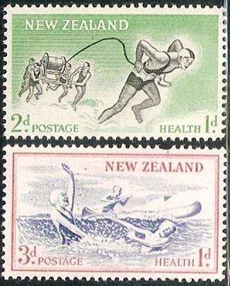 Pro - Infancia Nueva Zelanda Serie Mint Compl 362/3 Año 1957