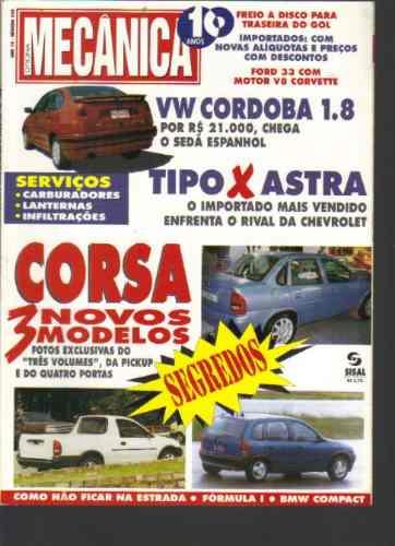 Revista Oficina Mecânica Nº 104 -ano 10-corsa-sisal