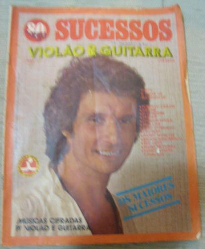 Revista 80 Vigu Sucessos Violão E Guitarra Ano 1 N° 1 - 1980