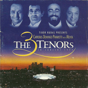 Carreras Domingo Pavarotti With Mehta - The 3 Tenores Live