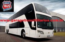 Busscar Panoramico Dd Ano 2009 Scania K-380 Novo !ref 135