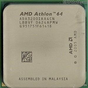 Amd Athlon 64 3200 +