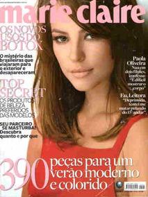 Marie Claire 221 * Paola Oliveira * Beltrão * Ryan Reynolds