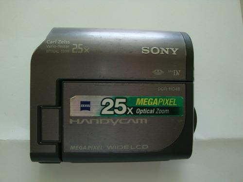 Imagem 1 de 3 de Lcd Montado Camera Mini Dv Sony Mod: Dcr-hc48