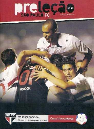 +m+ Spfc Revista Preleção # 9 - São Paulo X Inter 05.08.10
