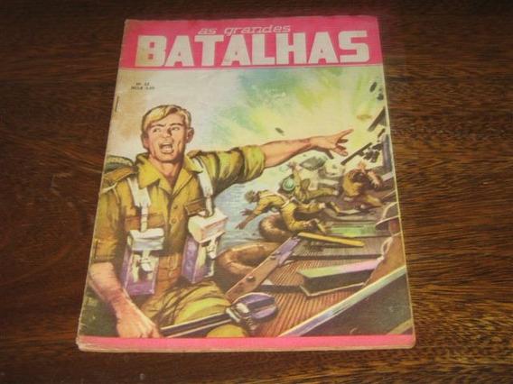 As Grandes Batalhas Nº 22 Ano: 1966 Editora Dado