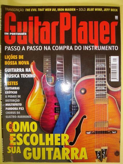 Guitar Player 11/1999 N.45/como Escolher Sua Guitarra/iron