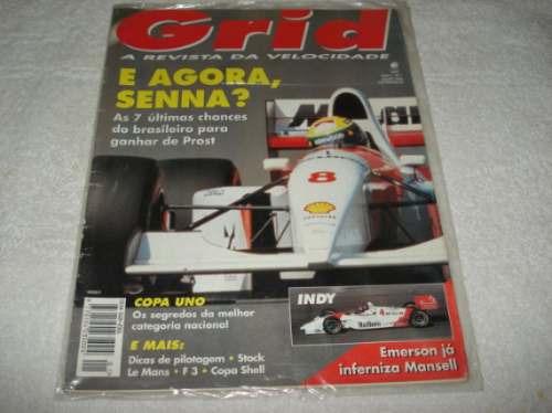 Ayrton Senna Revista Grid Julho/93 Ano 1 Numero 1