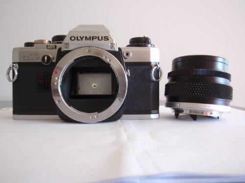 Câmera Olympus Om10-original Pouco Uso