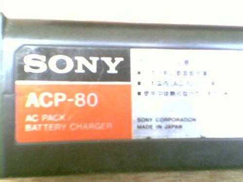 Carregador Sony Mod: Acp-80