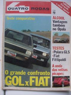 Revista Quatro Rodas N- 240 Gol - Fiat - Polara - Opala