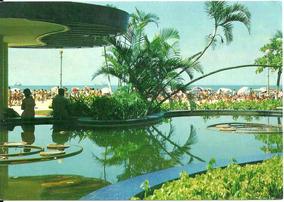 Cartão Postal - Santos - Sp - Vista Parcial Da Praia