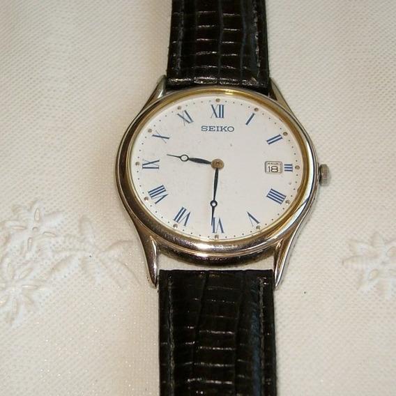 Relógio De Pulso Masculino A Quartz Seiko,