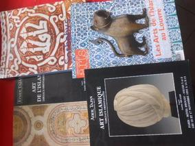 Arte Islâmica Lote Com 4 Livros Catálogos Seminovos Oferta