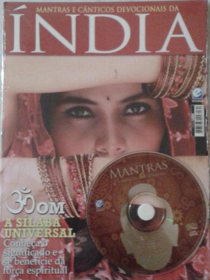 Índia - Mantras E Cânticos Devocionais ( Revista E Cd )