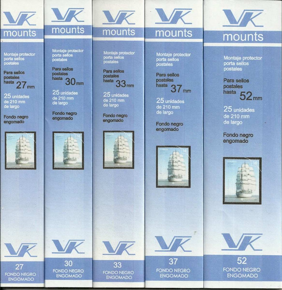 3 Paquetes De Bandas Protectoras Marca Vk A Elegir