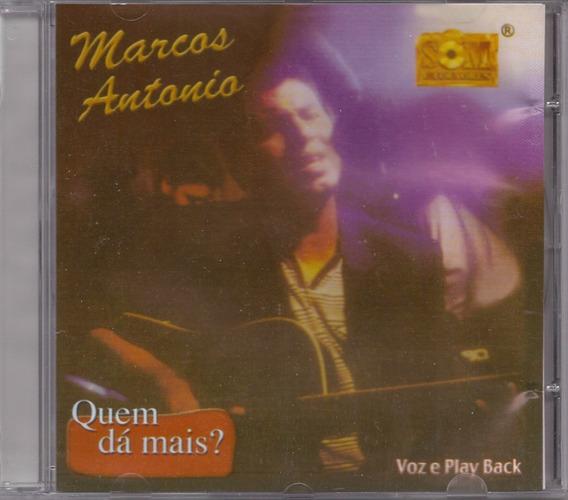Marcos Antonio - Quem Dá Mais? - Raridade - Cd - Gospel