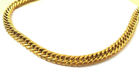Caadena Oro Laminado 24k 50cm 1cm 83grs